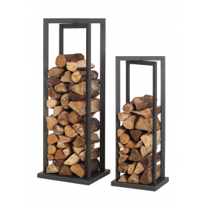 dixneuf vertigo log holder dix neuf tall log stacking tower for indoors french fire. Black Bedroom Furniture Sets. Home Design Ideas